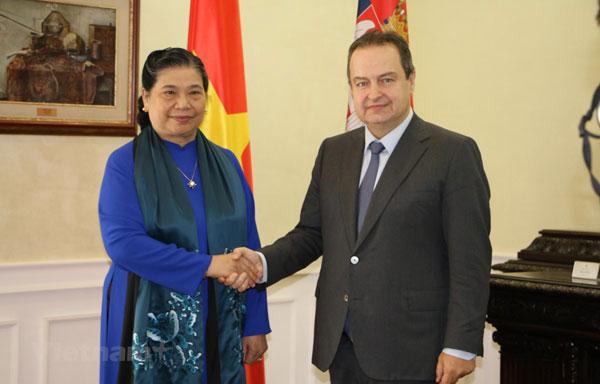 Phó Chủ tịch Quốc hội Tòng Thị Phóng dự bế mạc Đại hội đồng IPU-141