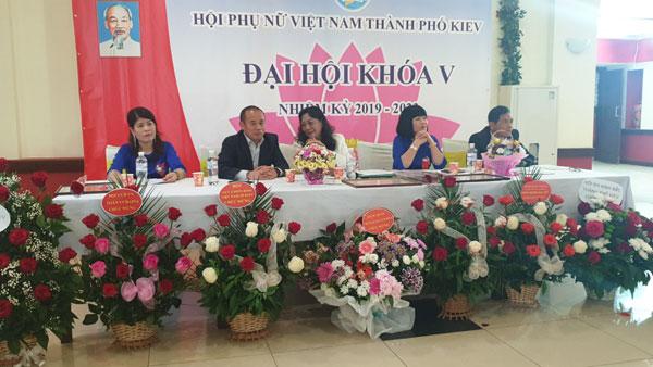 Đại hội lần thứ V Hội phụ nữ Việt Nam tại Kiev, Ucraina