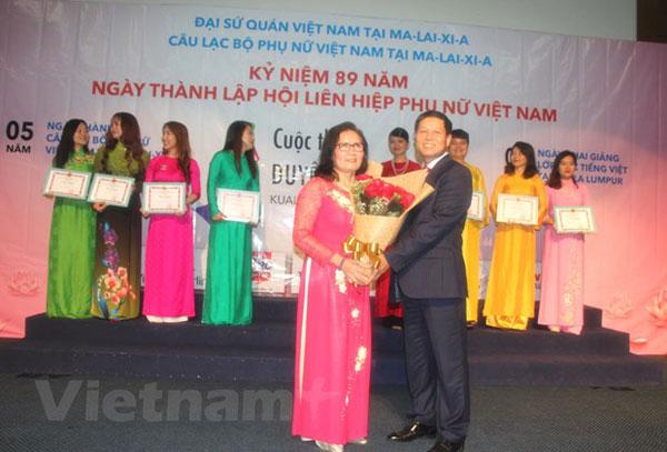 Người phụ nữ có nhiều đóng góp vì cộng đồng người Việt ở Malaysia
