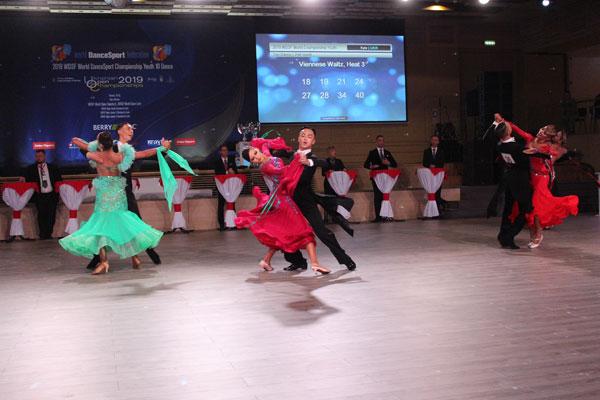 Việt Nam tham gia Giải Vô địch thế giới về Khiêu vũ thể thao cho lứa tuổi thanh niên