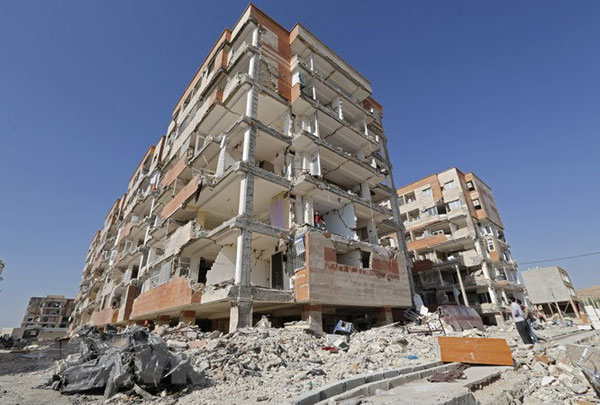 Hơn 70 người thương vong trong vụ động đất mạnh 5,9 tại Iran