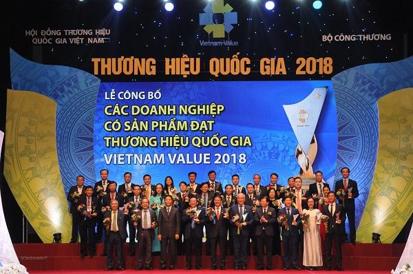 Việt Nam tăng 8 bậc trong bảng xếp hạng Thương hiệu quốc gia