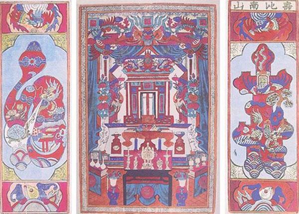 Tranh dân gian Hàng Trống - Một nét văn hóa độc đáo xứ Hà Thành