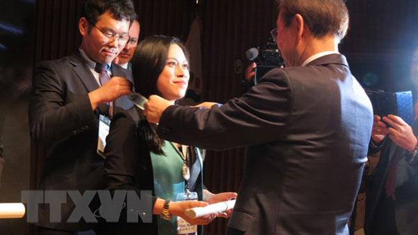 Người Việt Nam đầu tiên được vinh danh công dân danh dự Seoul