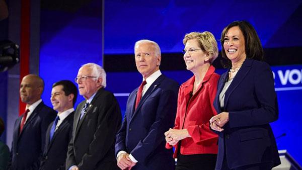 Đảng Dân chủ Mỹ công bố 10 ứng viên tham gia tranh luận tại Atlanta