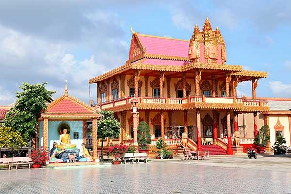 Ấn tượng chùa Xiêm Cán của người Khmer