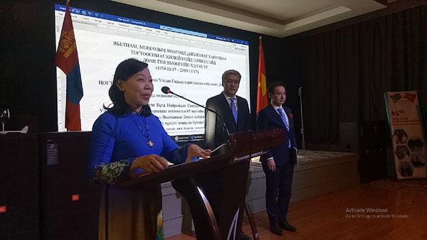 Kỷ niệm 65 năm quan hệ ngoại giao Việt Nam – Mông Cổ