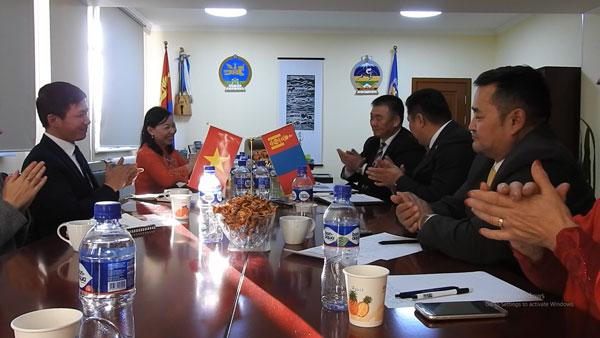 Tỉnh Govi – Altai, Mông Cổ mong muốn kết nối với doanh nghiệp Việt Nam
