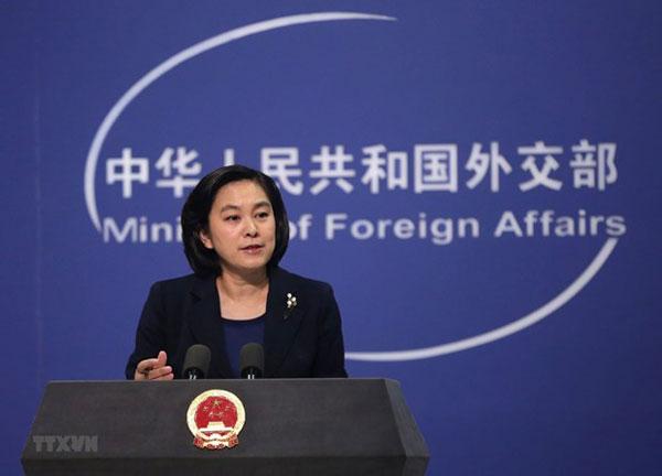 Trung Quốc dừng xem xét việc cho tàu, máy bay quân sự Mỹ đến Hong Kong