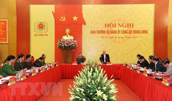 Tổng Bí thư, Chủ tịch nước: Lực lượng CAND có đóng góp rất to lớn