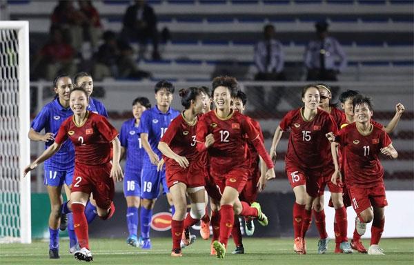 Đánh bại Thái Lan, đội tuyển nữ Việt Nam vô địch SEA Games 30