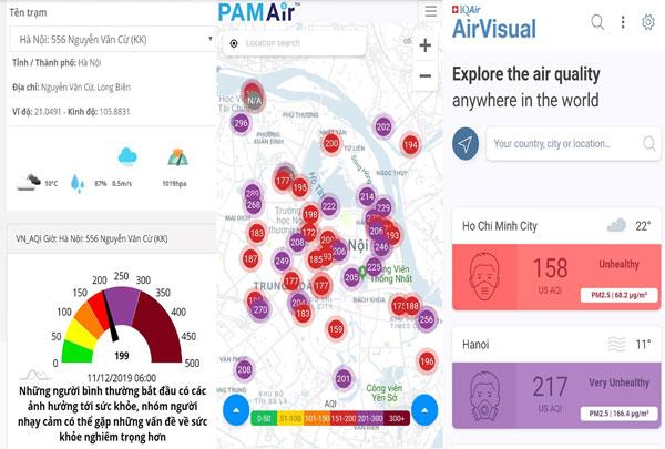 """Tổng cục Môi trường """"cảnh báo đỏ"""" về chất lượng không khí tại Hà Nội"""