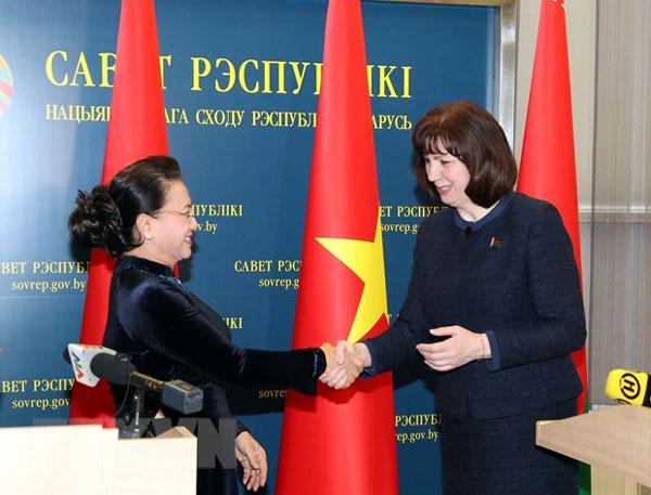 Việt Nam-Belarus: Tăng cường quan hệ truyền thống, hợp tác nhiều mặt