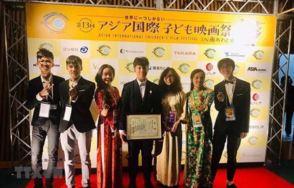 Việt Nam giành giải cao tại Liên hoan phim Thiếu nhi quốc tế châu Á