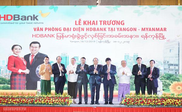 Thủ tướng chứng kiến các doanh nghiệp Việt hợp tác đầu tư tại Myanmar