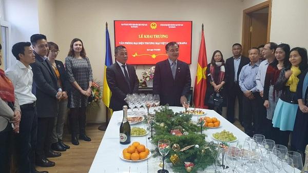 Lễ khai trương Văn phòng  cơ quan đại diện thương mại Việt Nam tại Ucraina