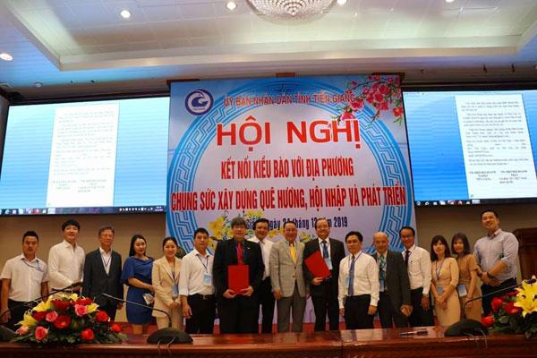 VKBIA tham dự Hội nghị kết nối kiều bào xây dựng quê hương tại Tiền Giang