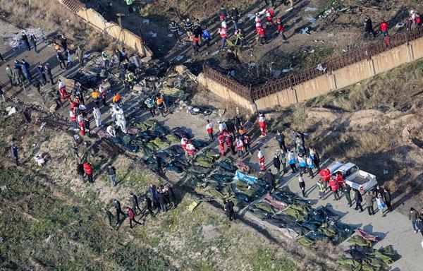 Phần lớn hành khách trên máy bay Ukraine gặp nạn là người Iran