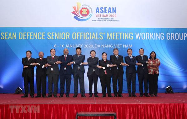 Khai mạc Hội nghị Nhóm làm việc Quan chức Quốc phòng Cấp cao ASEAN