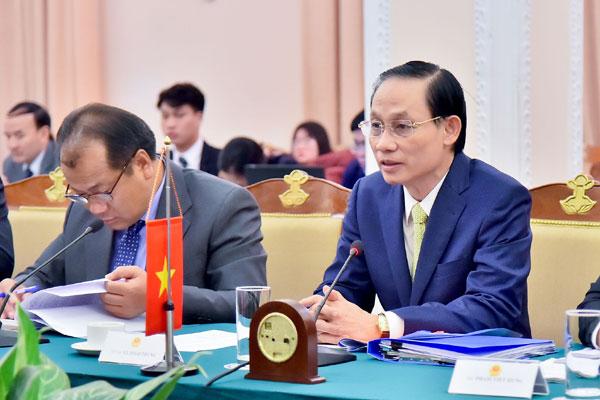 Cuộc họp vòng I Nhóm công tác hỗn hợp về cửa khẩu biên giới trên đất liền Việt Nam - Campuchia