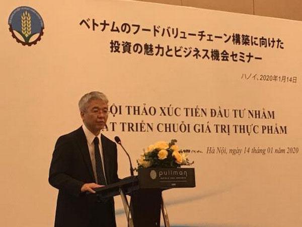 Việt Nam-Nhật Bản hợp tác thúc đẩy chuỗi giá trị thực phẩm