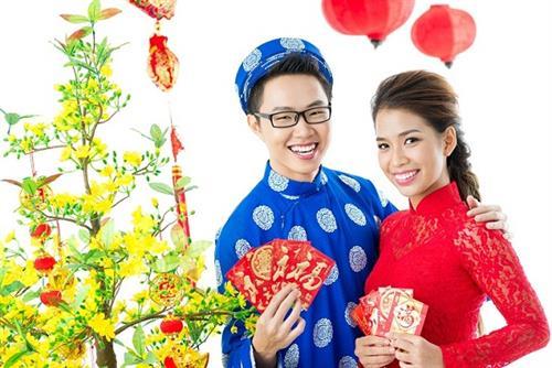 Màu đỏ trong ngày Tết của người Việt