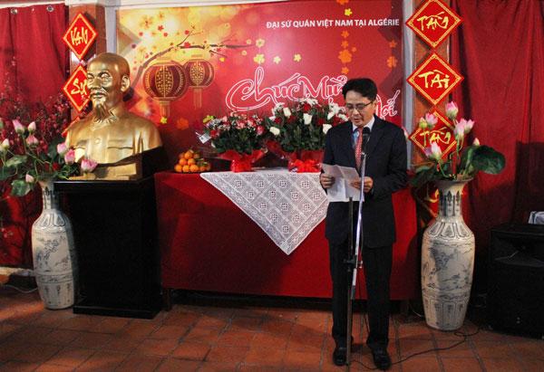 Đại sứ quán Việt Nam tại An-giê-ri tổ chức Tết cộng đồng đón Xuân
