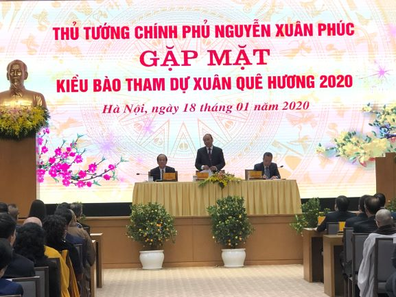 Trực tuyến Xuân Quê hương 2020: Thủ tướng Chính phủ Nguyễn Xuân Phúc gặp gỡ bà con kiều bào