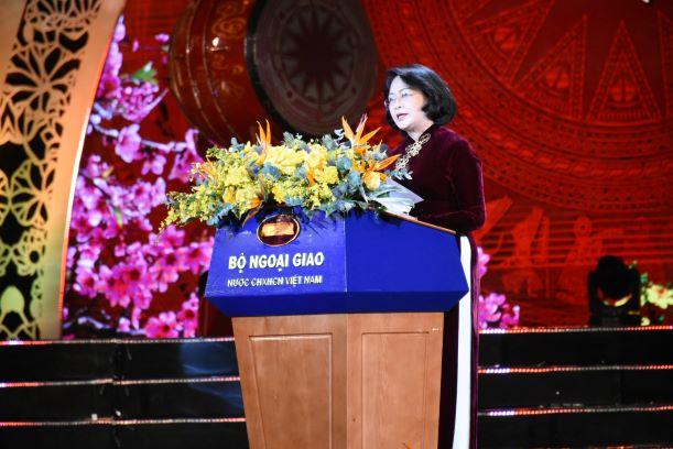 Toàn văn phát biểu của Phó Chủ tịch nước Đặng Thị Ngọc Thịnh tại chương trình Xuân Quê hương 2020