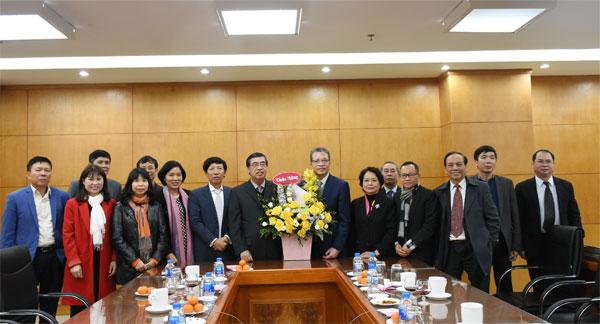 Thứ trưởng Đặng Minh Khôi tiếp Lãnh đạo Hội liên lạc với người Việt Nam ở nước ngoài