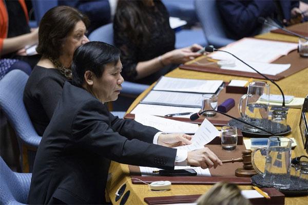 Việt Nam chủ trì Phiên họp của Hội đồng Bảo an về