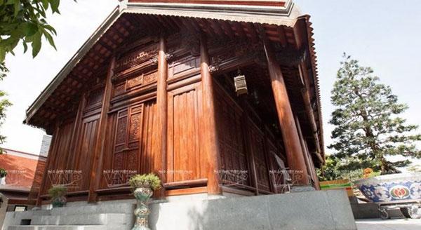 Tinh hoa nghề làm nhà gỗ Chàng Sơn