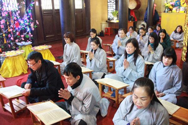 Lễ cầu an đầu năm mới Canh Tý tại chùa Trúc Lâm Kharkov - Ucraina