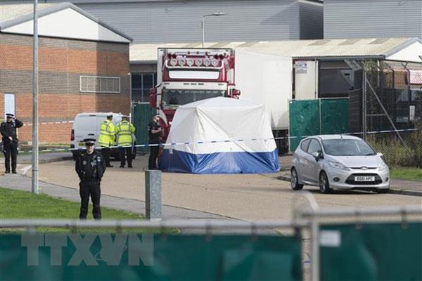 Vụ 39 thi thể trong xe tải ở Anh: Kết luận nguyên nhân tử vong