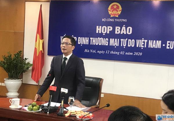 Bộ trưởng Trần Tuấn Anh: EVFTA được phê chuẩn, lần đầu tiên Việt Nam trở thành nước đi đầu trong hội nhập