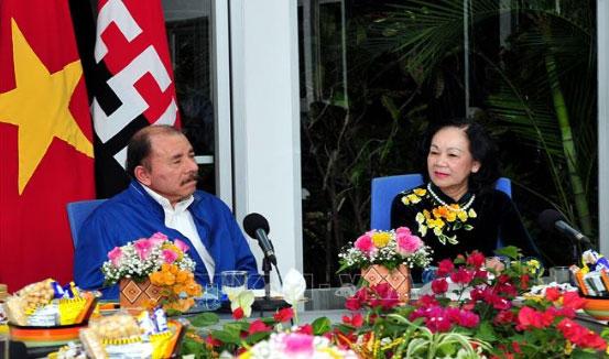Thúc đẩy quan hệ hợp tác toàn diện giữa Việt Nam và Nicaragua
