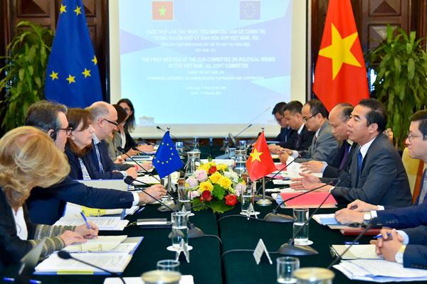 Cuộc họp Tiểu ban các vấn đề chính trị trong khuôn khổ ủy ban PCA