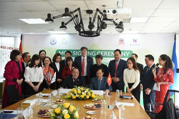 VKBIA đồng hành cùng Bộ Khoa học Công nghệ trong hợp tác phát triển công nghệ xanh