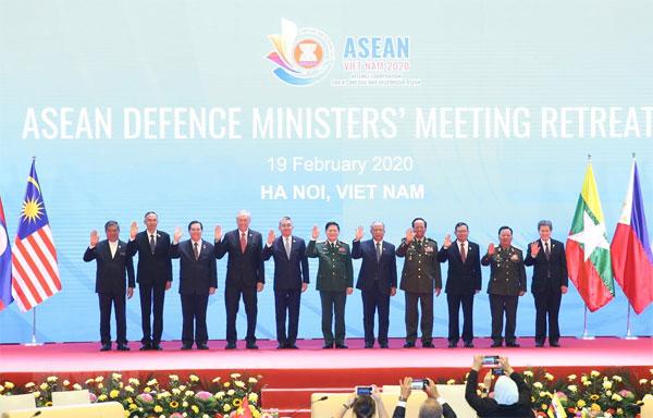 Khai mạc Hội nghị hẹp Bộ trưởng Quốc phòng ASEAN tại Hà Nội