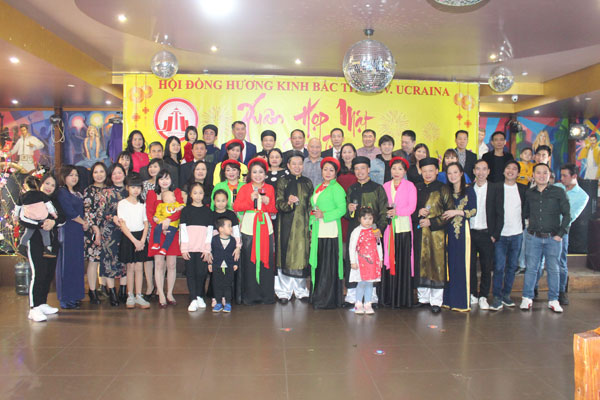 Hội đồng hương Kinh Bắc thành phố Kiev Gặp mặt đầu Xuân Canh Tý