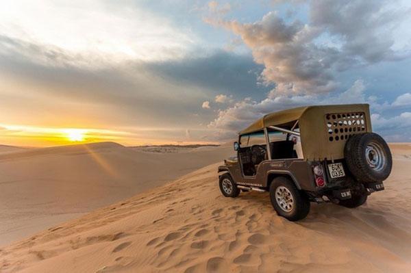 Những đồi cát đẹp hút hồn của Việt Nam