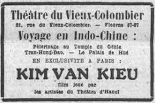 Thúy Kiều lên màn ảnh thời Pháp thuộc