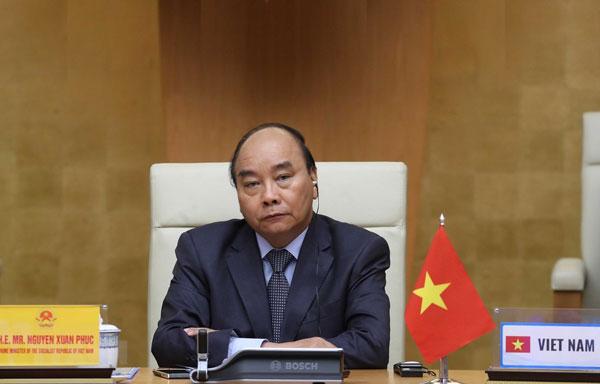 Thủ tướng dự Hội nghị thượng đỉnh trực tuyến G20 về COVID-19