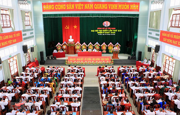 Chuẩn bị đại hội đảng bộ các cấp tiến tới Đại hội XIII của Đảng