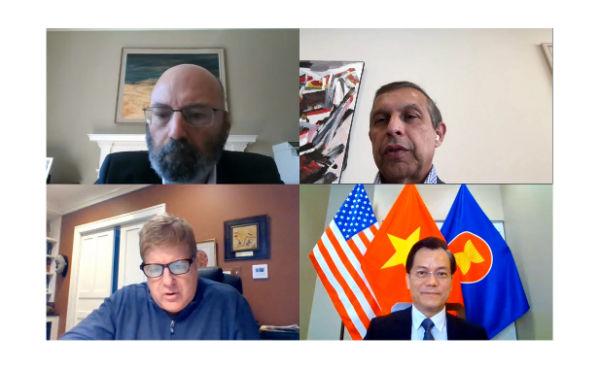 Doanh nghiệp Hoa Kỳ muốn đồng hành với Chính phủ Việt Nam trong chống dịch Covid-19 và phục hồi kinh tế