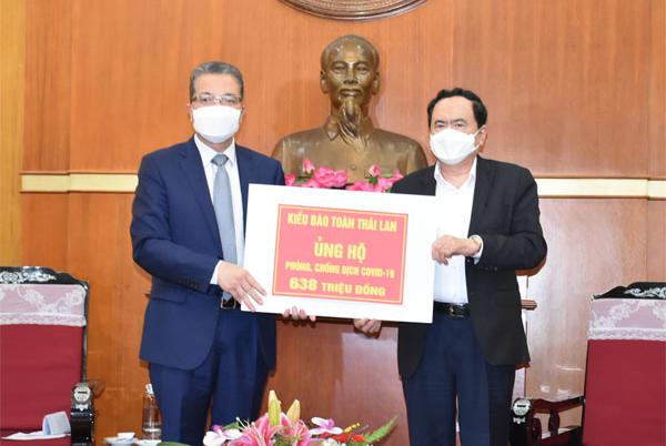 Người Việt Nam tại Thái Lan, Hàn Quốc ủng hộ công tác phòng, chống dịch Covid-19 trong nước