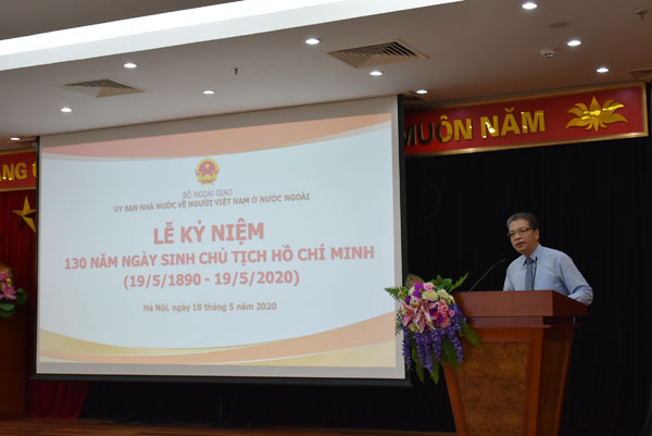 Ủy ban Nhà nước về NVNONN: Kỷ niệm 130 năm Ngày sinh Chủ tịch Hồ Chí Minh