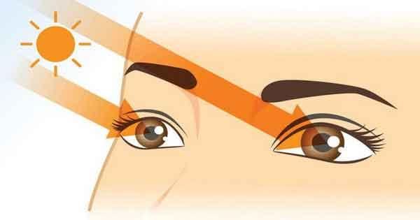 Bảo vệ mắt trong ánh nắng chói chang