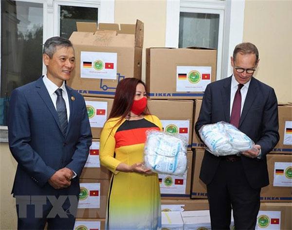 Hoạt động thiện nguyện của cộng đồng người Việt tại Berlin