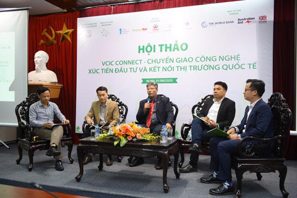 Chuyển giao công nghệ, kết nối thị trường quốc tế